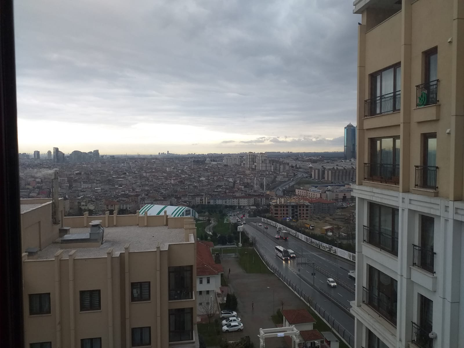 Apartment for sale with great view in Istanbul Europe / Esenler